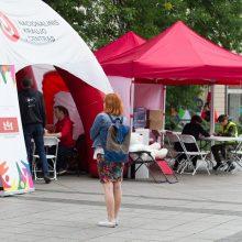 Kraujo centras šią savaitę nuo COVID-19 skiepys septyniuose miestuose