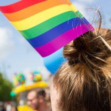 Keli šimtai žmonių Vilniuje susirinko į LGBT solidarumo eitynes