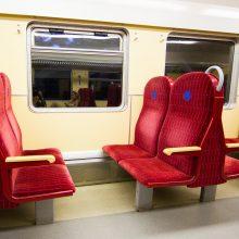 Vyriausybė pratęsė išimtį dėl traukinių pritaikymo neįgaliesiems