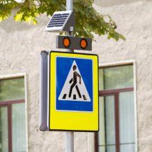 Vilniuje pėsčiųjų perėjoje partrenktas žmogus, vairuotojas pabėgo <span style=color:red;>(ieško liudininkų)</span>