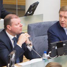 Per LVŽS tarybos posėdį pasitikėjimą tikrinsis ir R. Karbauskis, ir S. Skvernelis