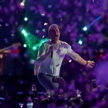 """Britų popgrupė """"Coldplay"""" dėl klimato krizės atsisako gastrolių"""