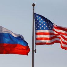 Maskva sako esanti pasirengusi bendradarbiauti su JAV dėl branduolinės sutarties