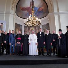 Popiežius Pranciškus gavo Estijos e-gyventojo kortelę