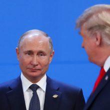 V. Putinas apie START sutartį su JAV: šimtąkart sakėme, bet niekas su mumis nesidera