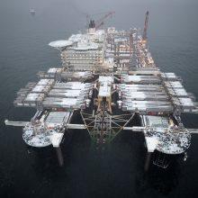 """Rusija: JAV grasinimai sankcijomis """"Nord Stream 2"""" prieštarauja tarptautinei teisei"""