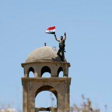 """Sirijos pajėgoms užėmus paskutinį IS bastioną """"kalifatas"""" eliminuotas"""