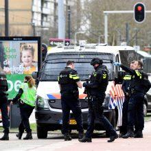 Nyderlanduose per šaudymą tramvajuje žuvo trys žmonės, policija suėmė įtariamąjį