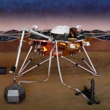 Marso zondas pirmąkart užfiksavo seisminius virpesius