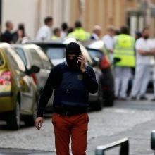 Prancūzijoje driokstelėjo sprogimas, yra sužeistųjų