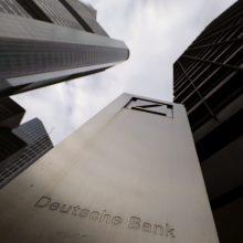 Didžiausias Vokietijos bankas gali atleisti apie 20 tūkst. darbuotojų