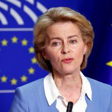 Iš Vokietijos gynybos ministro posto atsistatydina U. von der Leyen