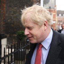 """D. Trumpas: B. Johnsonas """"puikiai padirbėtų"""" JK premjero poste"""