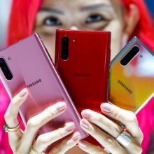"""Samsung"" nebegamins telefonų Kinijoje"