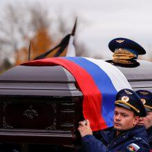 Rusija atsisveikino su savo pirmuoju kosmonautu, išėjusiu į atvirą kosmosą