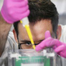 Tyrimus dėl koronaviruso iš viso planuojama atlikti dvylikoje laboratorijų