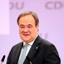 Vokietijos kanclerės A. Merkel sąjungininkas A. Laschetas išrinktas jos partijos vadovu