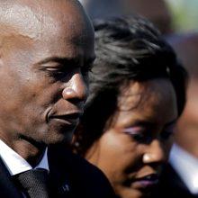 Prakalbo sužeista nužudyto Haičio prezidento žmona: paragino tautą nepamesti savo kelio