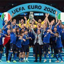 Europos futbolo sostą užėmė italai