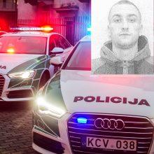 Mestos didelės policijos pajėgos: iš darbo vietos pabėgo nuteistasis