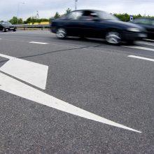 Nuo balandžio 1-osios – didesnis maksimalus greitis automagistralėse ir greitkeliuose