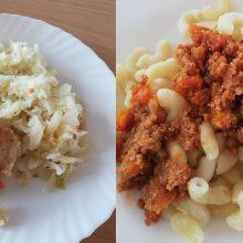 Maistas mokyklose: sriuba primena pamazgas, o porcijos – itin mažos?