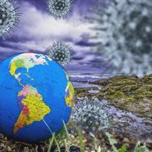 PSO perspėja dėl naujų pavojingesnių COVID-19 atmainų didelės tikimybės