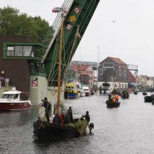 """Jūros šventės akcentas: tradicinių istorinių laivų paradas """"Dangės flotilė"""""""