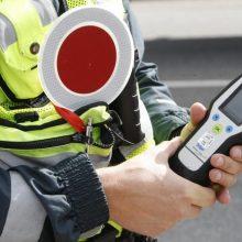 Vilniaus policija per patikrinimus sulaikė šešis neblaivius vairuotojus