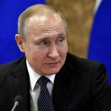 JAV pasmerkė V. Putino įsaką dėl supaprastinto Rusijos pilietybės suteikimo