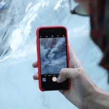 Mokslininkai apskaičiavo bauginamą Grenlandijos ledynų tirpsmo spartą