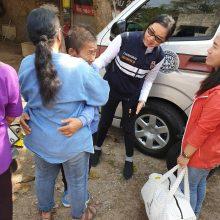Silpnaprotyste serganti moteris grįžo namo sukorusi 640 kilometrų