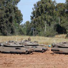 Palestiniečiai sako susitarę su Izraeliu dėl paliaubų
