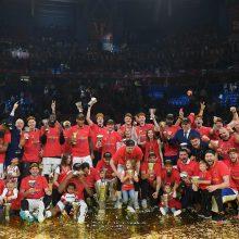 Įspūdingai tritaškius šaudžiusi CSKA – stipriausia Eurolygoje
