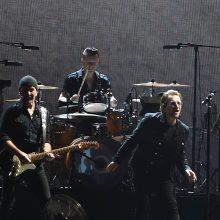 Airių roko grupė U2 pirmą kartą surengė koncertą Indijoje
