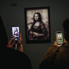 L. da Vincio parodą Luvre apžiūrėjo rekordinis lankytojų skaičius