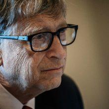 B. Gatesas įsitikinęs, kad pasauliui pavyks įveikti koronavirusą