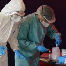 Trys iš keturių naujų koronaviruso atvejų patvirtinti Vilniaus apskrityje