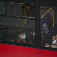 """Nauji susirgimai koronavirusu: daugėja atvejų, susijusių su """"Kauno autobusais"""""""