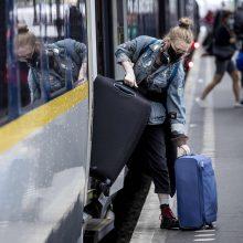 Nyderlandų miestai įvedė prievolę dėvėti kaukes