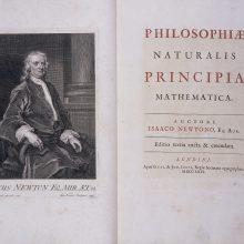 Korsikos bibliotekoje rastas retas Isaaco Newtono rankraštis