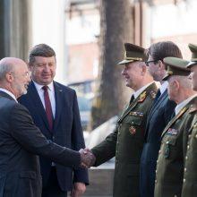 R. Karoblis: partnerystė su Pensilvanijos nacionaline gvardija yra itin aktuali