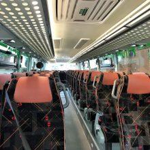 Keleivių mažėjant vežėjai atsisakė dar daugiau reisų
