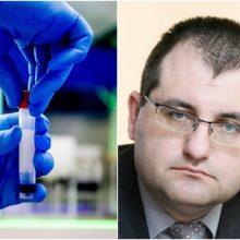 V. Kasiulevičius – apie karantiną ir sergamumą virusu Lietuvoje ir užsienyje