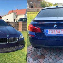 Aleksote pavogtas BMW: už pagalbą savininkas žada tūkstantinį atlygį