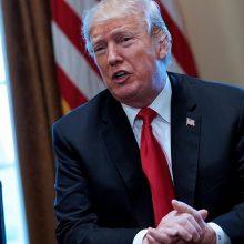 D. Trumpas: nepaisant J. Khashoggi nužudymo JAV išlaikys tvirtus ryšius su Rijadu