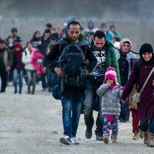 Pernai ES toliau mažėjo prašymų suteikti prieglobstį