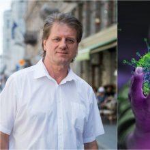 S. Čaplinskas: šis virusas staiga atskleidžia naujas agresyvias savybes