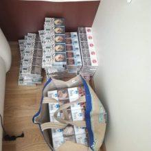 Kaune į pasieniečių rankas pateko svaigalų bei cigarečių krovinys: rasta ir pinigų