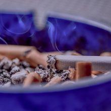 PSO: pasaulyje rūkančių vyrų skaičius pirmą kartą mažėja